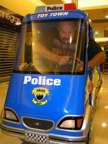 Полиция не дремлет!